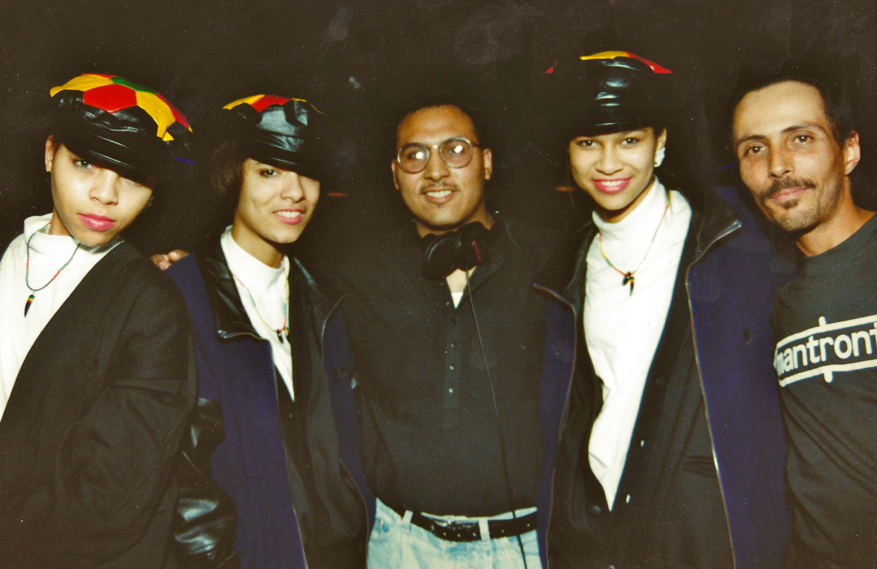 Late-80s-w_Motown-RB-group-the-Good-Girls-and-my-dj-mentor-the-late-DJ-Bob-Fonfrias-at-Laces-Roller-Rink